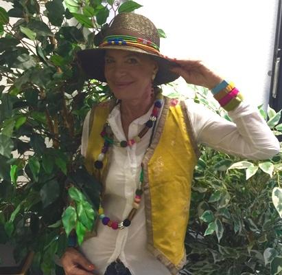 dimbali-Botschafterin Barbara Engel,